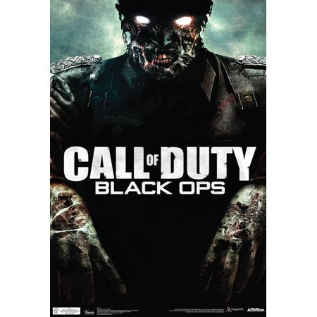 Call Of Duty Black Ops Zombie Video Game Poster   13X19