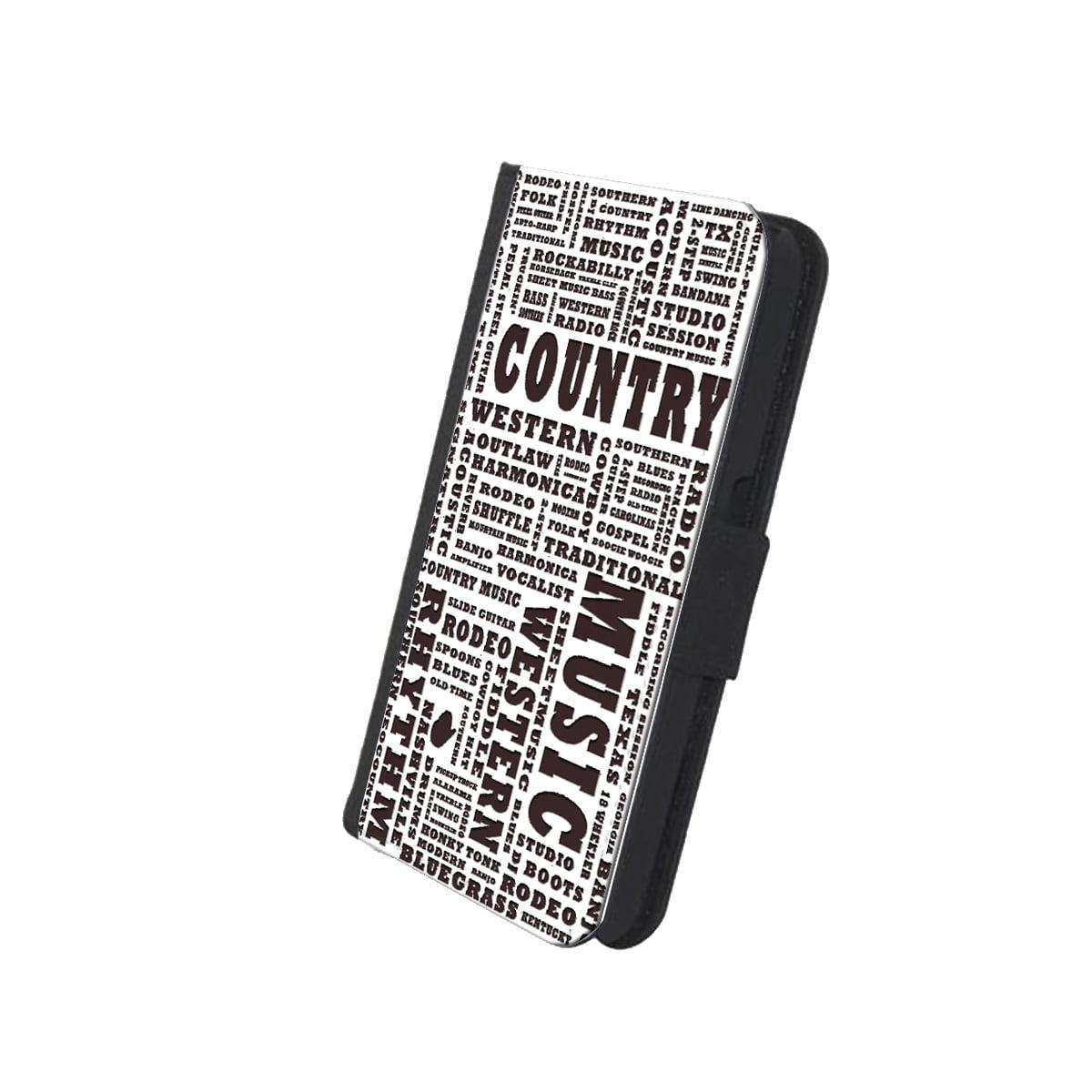 KuzmarK™ Samsung Galaxy S6 Wallet Case - Country Music