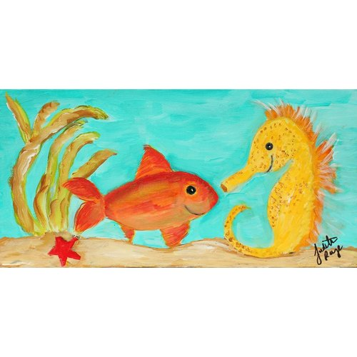 Judith Raye Paintings LLC Under the Sea by Judith Raye Painting Print