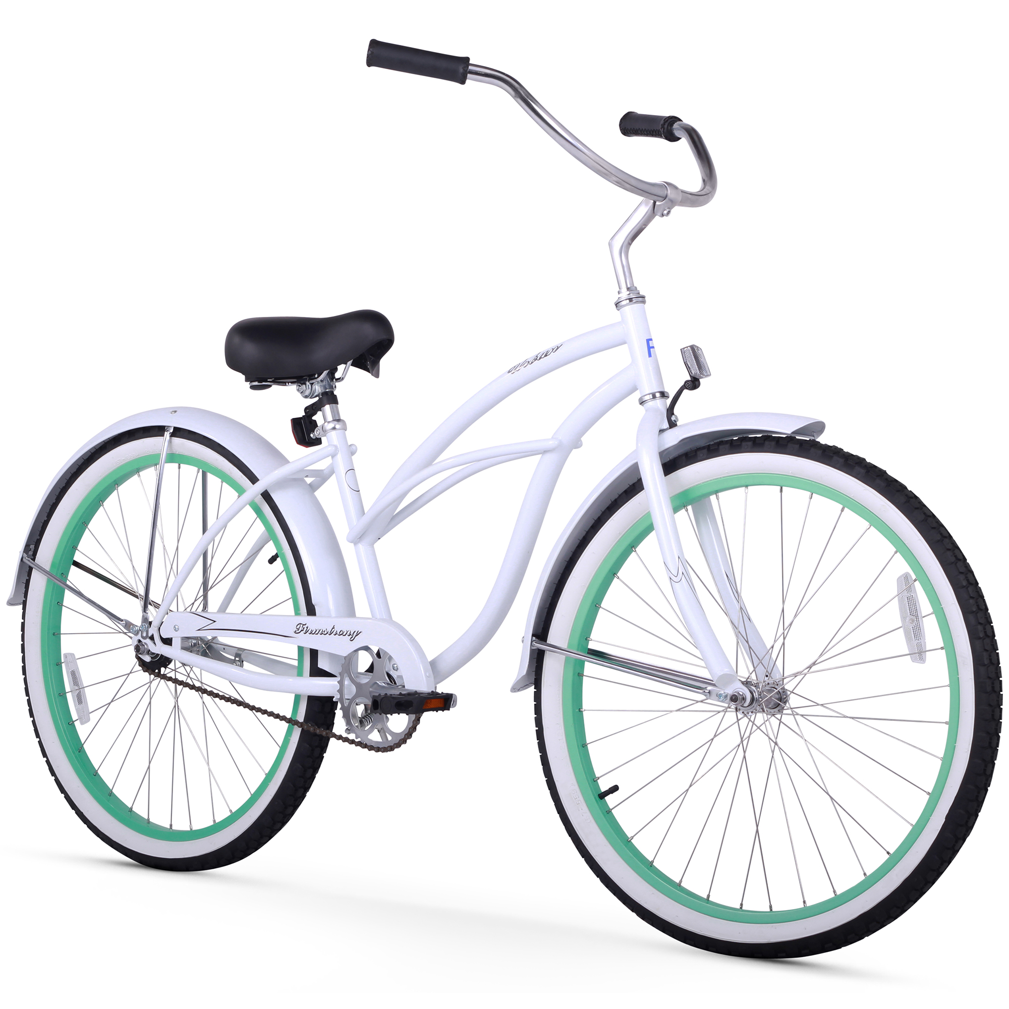 "Firmstrong 26"" Women's Urban Lady Boutique Beach Cruiser Bicycle, 1 Speed"