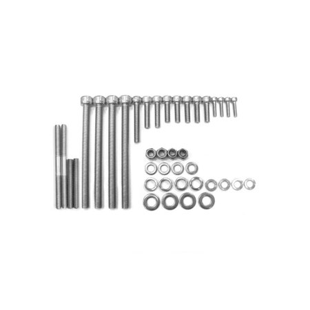 Stainless Steel Heavy Duty 66cc / 80cc Engine Screw Set For Gas Motorized Bicycle Motorized Heavy Duty Aluminum Shutters