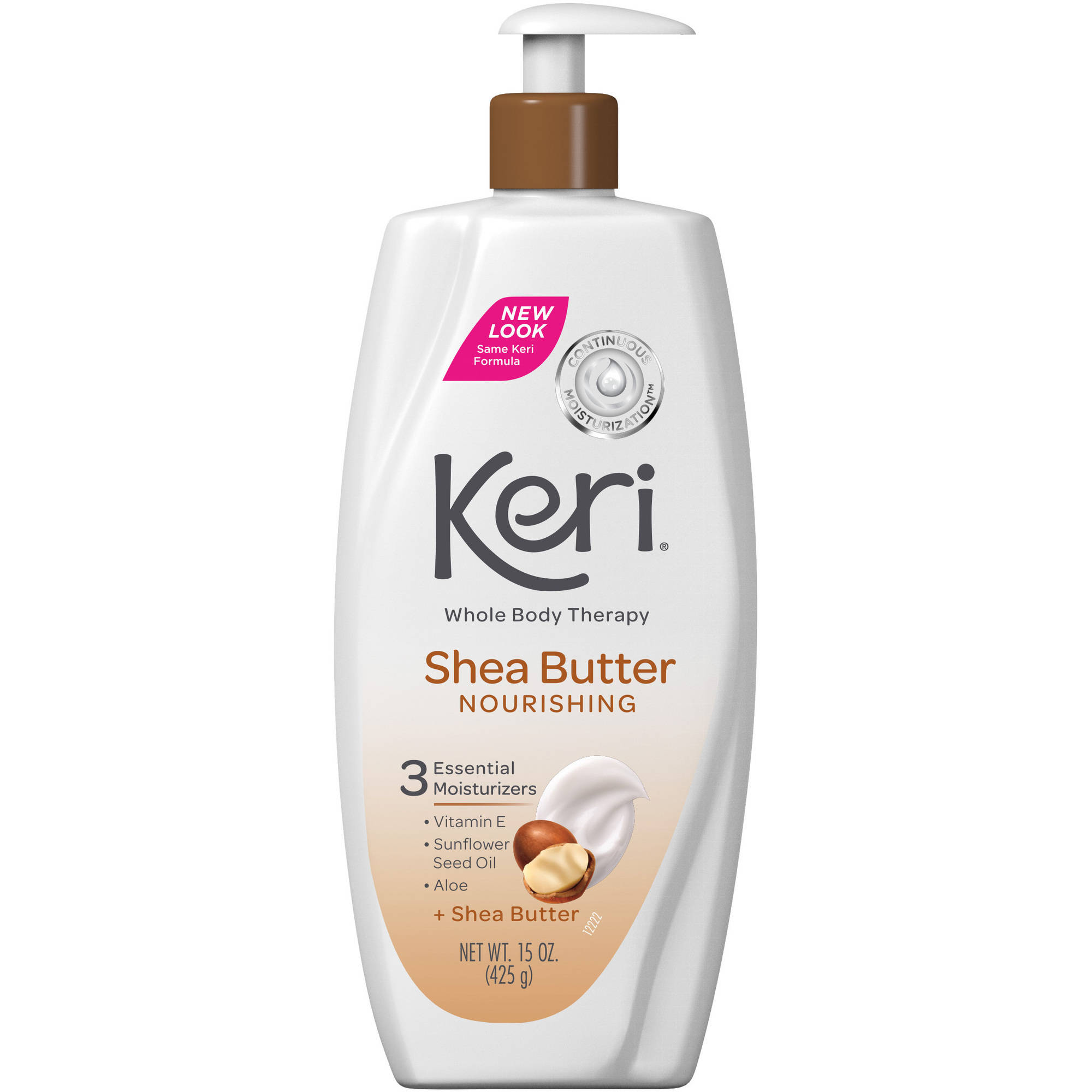 Keri Nourishing Shea Butter & Vitamin E Lotion, 15 fl oz
