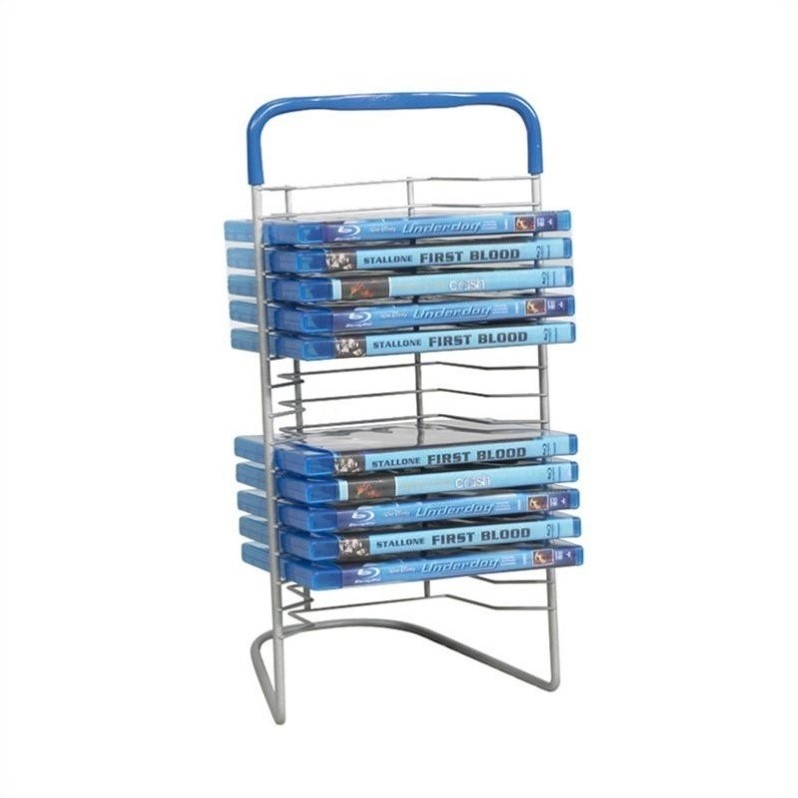Atlantic Nestable DVD Wire Rack 63735592