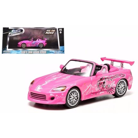 Honda Diecast Model (GREENLIGHT 1:43 FAST & FURIOUS DIECAST CAR MODEL SUKI'S 2001 HONDA S2000)