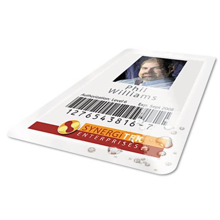 Wilson Jones. 56005 HeatSeal Thermal Laminating Pouch, 5 mil, 2 9/16 x 3 3/4, ID Size, 100 - image 1 of 1