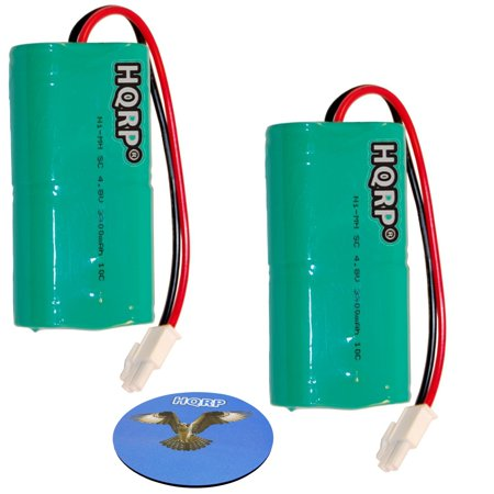 HQRP 2-Pack Battery for Mosquito Magnet HHD10006 MM565021 Liberty Plus, Executive Trap, Commander Trap MMBATTERY MM3100 MM3300 MM3400 565-021 H-SC3000X4 + HQRP (Liberty Trap)
