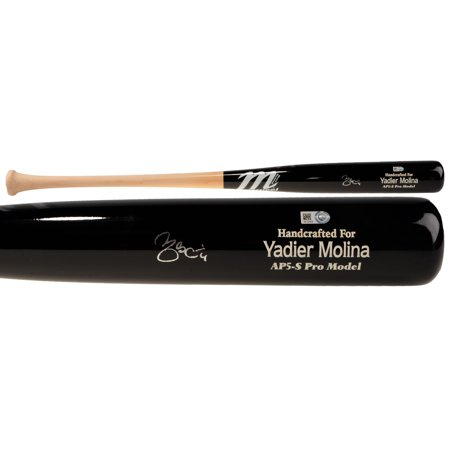 Yadier Molina St. Louis Cardinals Fanatics Authentic Autographed Marucci Game Model Bat - No Size