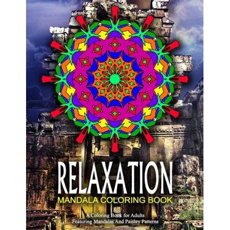 Relaxation Mandala Coloring Book