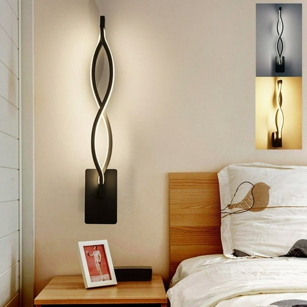 Modern LED Wall Light Indoor Lamp Wall Sconce Fixture Wall Lamp For Bedroom Living Room 16W - Walmart.com - Walmart.com