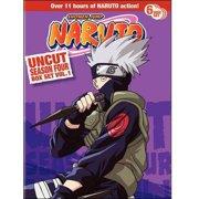 Naruto Uncut Season 4, Vol 1. Box Set (Full Frame) by VIZ VIDEO