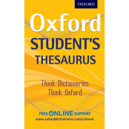 Oxford Students Thesaurus