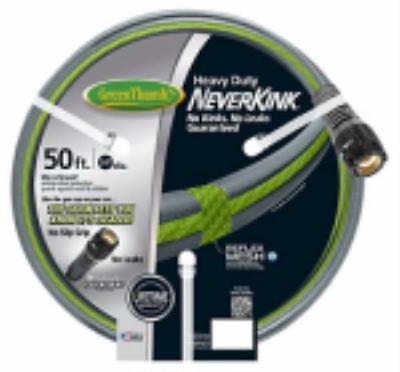 "Apex Digital Green Thumb 5/8"" ID x 50 Neverkink Heavy Duty Garden Hose Special Clic"