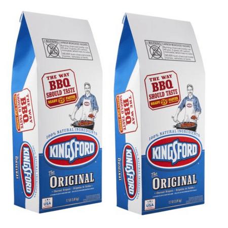 Natural Charcoal 20 Lb Bag - (2 pack) Kingsford Original Charcoal Briquettes, 7.7 lb Bag