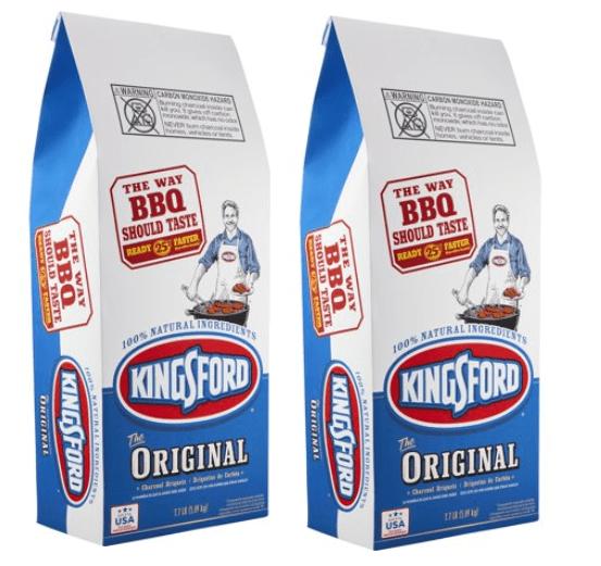 (2 pack) Kingsford Original Charcoal Briquettes, 7.7 lb Bag