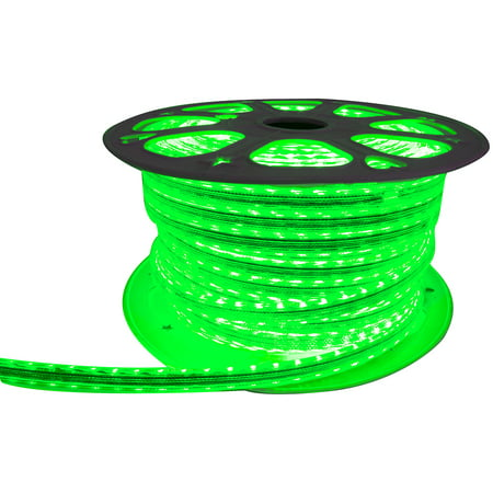 Street Vision Svm164ft5050g 110V Weatherproof Pier Light Strip 164Ft Green 5050