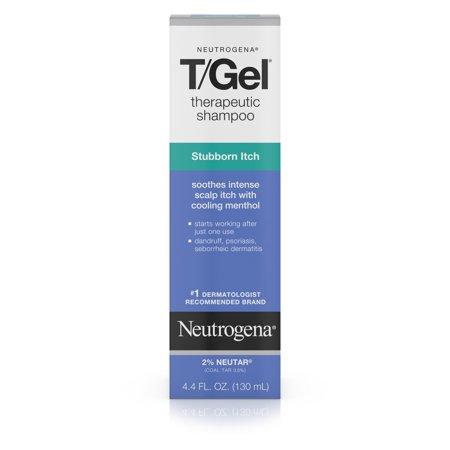 Neutrogena T Gel Therapeutic Shampoo Stubborn Itch  4 4 Fl  Oz