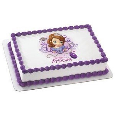 Sofia The First Cake Ideas (Sofia The First Edible Image Cake Cupcake and Cookie)