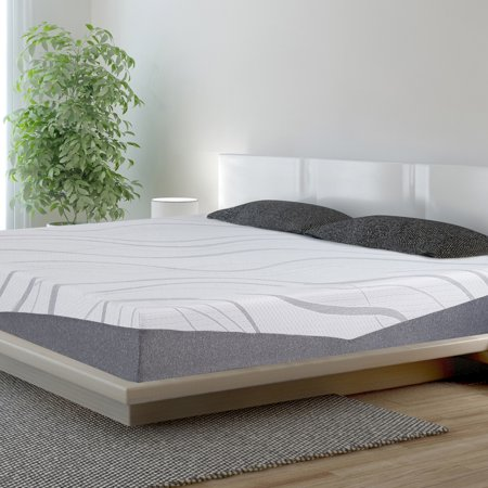 granrest 10 inch ultra comfort memory foam mattress. Black Bedroom Furniture Sets. Home Design Ideas
