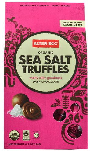 Alter Eco Truffles Dark Chocolate Sea Salt -- 4.2 oz pack of 1 by Alter Eco