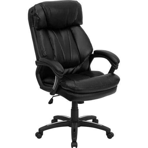 flash furniture hercules high back executive office chair, black