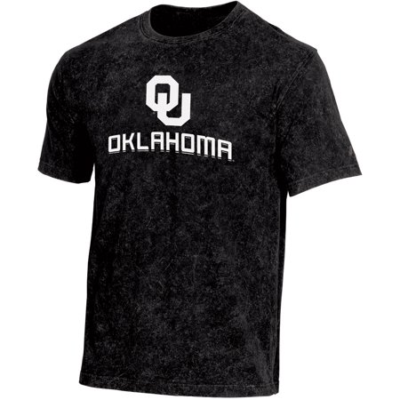 Men's Russell Athletic Black Oklahoma Sooners Classic Fit Enzyme Wash T-Shirt ()