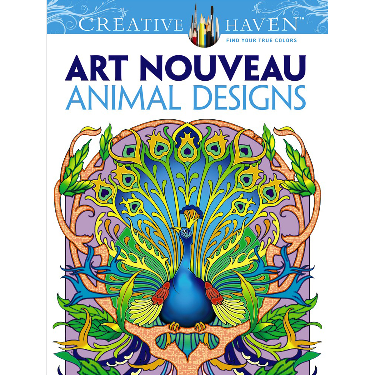 Dover Publications-Creative Haven: Art Nouveau Animal