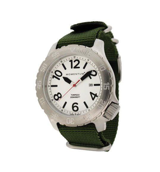 ST. MORITZ Momentum by St Moritz watch corp Torpedo Watch...
