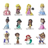 Disney Princess Comics 2-Inch Collectible Dolls, Doll Surprise Blind Box with Favorite Disney Comic Book Characters, Series 1
