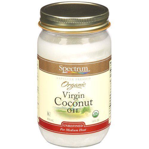 Spectrum Naturals: Expeller Pressed Organic Virgin Coconut Oil, 14 Fl Oz