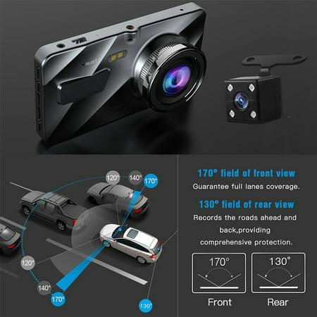 "4"" Vehicle 1080P Car Dashboard DVR Camera Video Recorder G-Sensor Dash Cam - image 2 de 8"