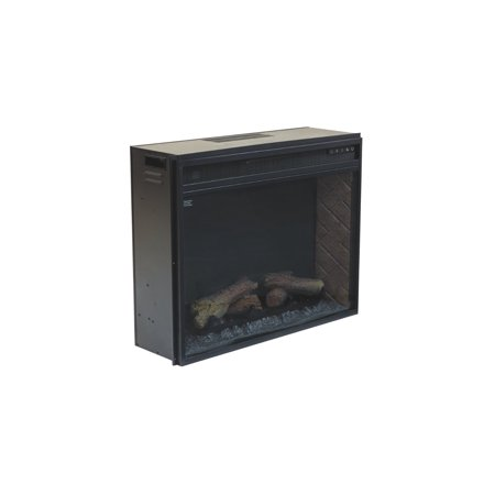 Signature Design by Ashley Large Fireplace Insert , Infrared - Fireplace Insert Package