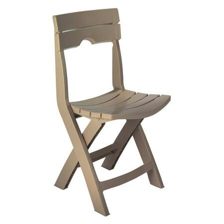 Image of Adams Manufacturing Resin Quik-Fold Chair, Portobello