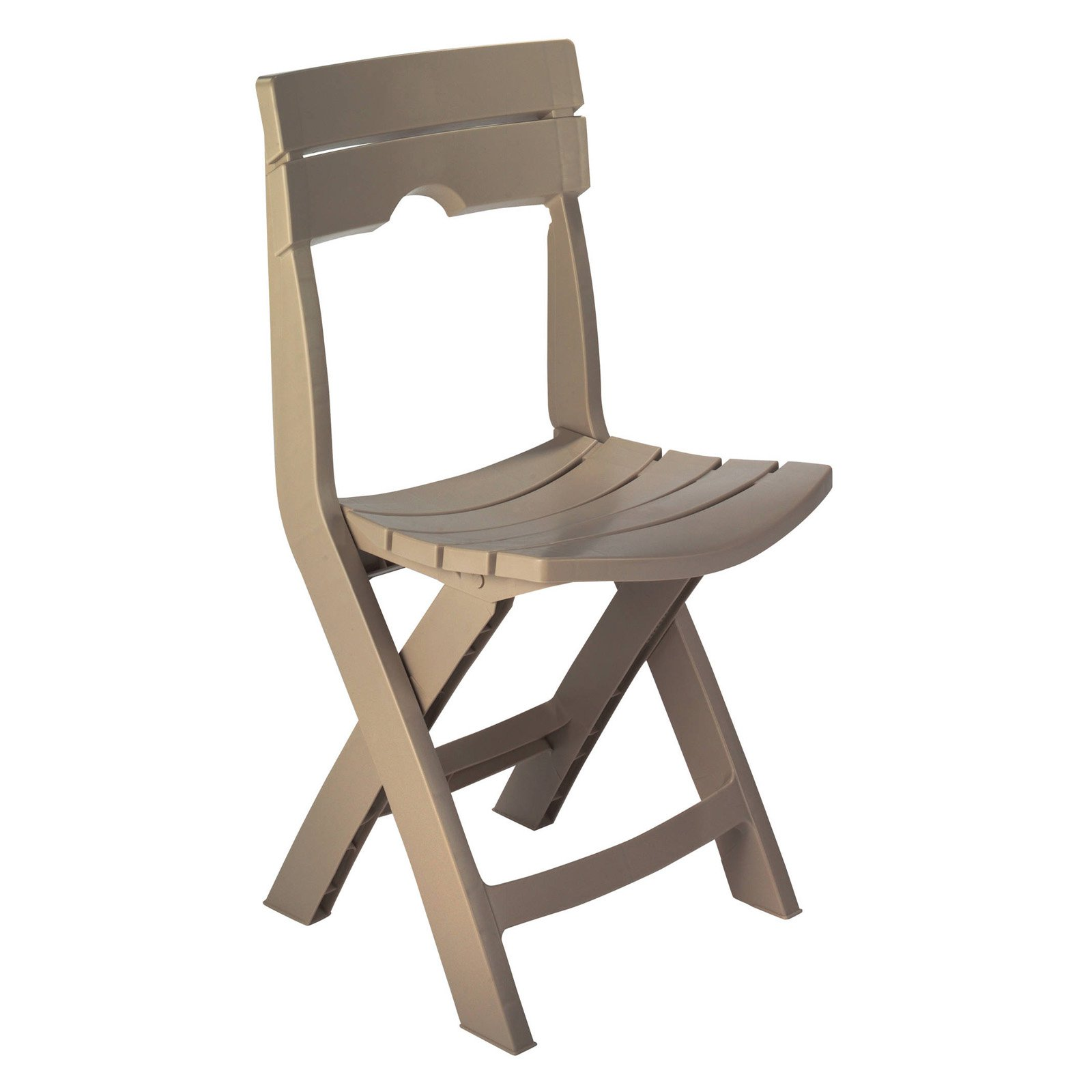 Adams Manufacturing Resin Quik-Fold Chair, Portobello