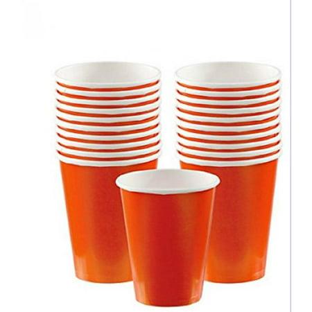 Orange Peel 9oz Paper Cups Orange Peel Jumbo Cup