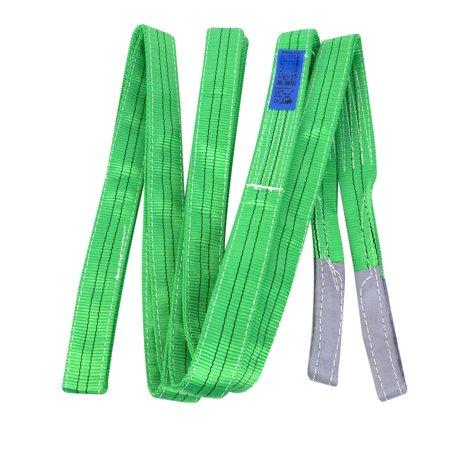 Unique Bargains 13ft 2 Ply Polyester Web Lift 2