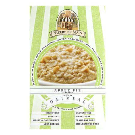 Bakery On Main Apple Pie Instant Oatmeal  10 56 Oz  Pack Of 6