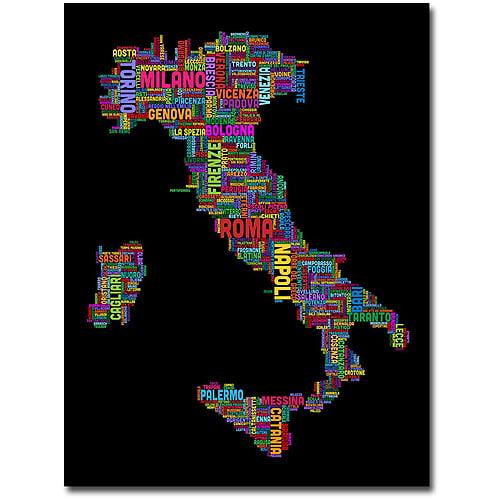 "Trademark Art ""Italy VI"" Canvas Wall Art by Michael Tompsett"