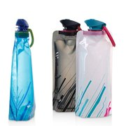 Outdoor Sports Folding Portable Water Bag Mountaineering Cycling Water Cup