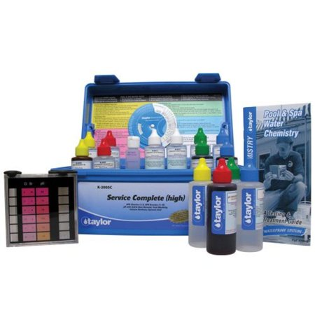 Taylor Technologies K 2005c Service Complete Swimming Pool Test Kit