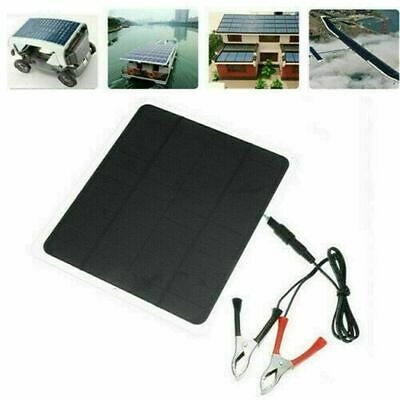 20W 12V Car Boat Yacht Solar Panel Trickle Battery Charger Power Supply Outdoor - image 3 de 5