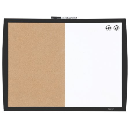 Quartet Magnetic Combination Board, Dry-Erase, 17
