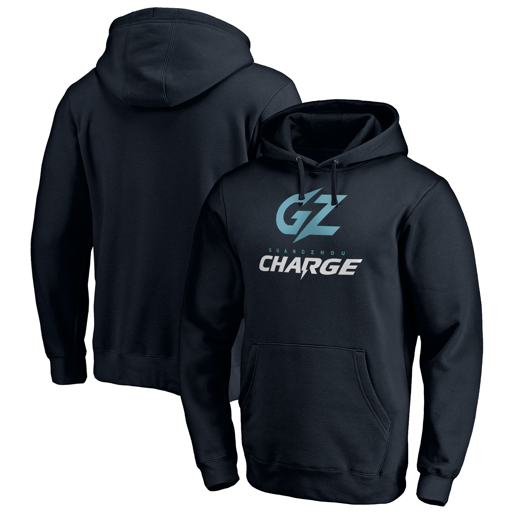 Guangzhou Charge Fanatics Branded Team Identity Pullover Hoodie - Navy