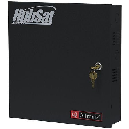 ALTRONIX HUBSAT8D Passive UTP Hub W/Power 8 Channel