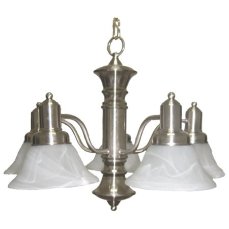 Maxim 20325MR Newburg Down Light Chandelier - 24.75W in.