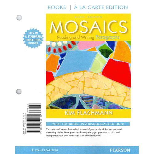 Mosaics: Reading and Writing Paragraphs