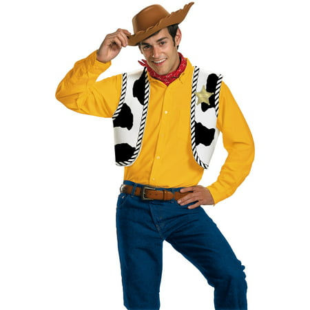 Toy Story - Woody Adult Costume - Quick Easy Adult Costumes