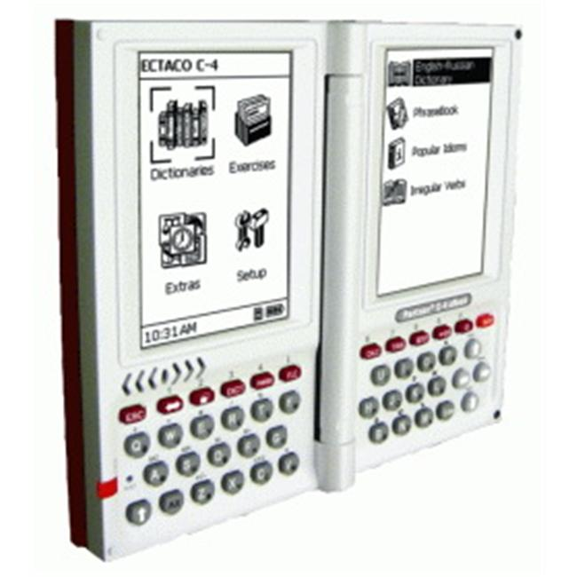 Ectaco C-4Cz English - Czech Professional Talking Electronic Dictionary and eBook