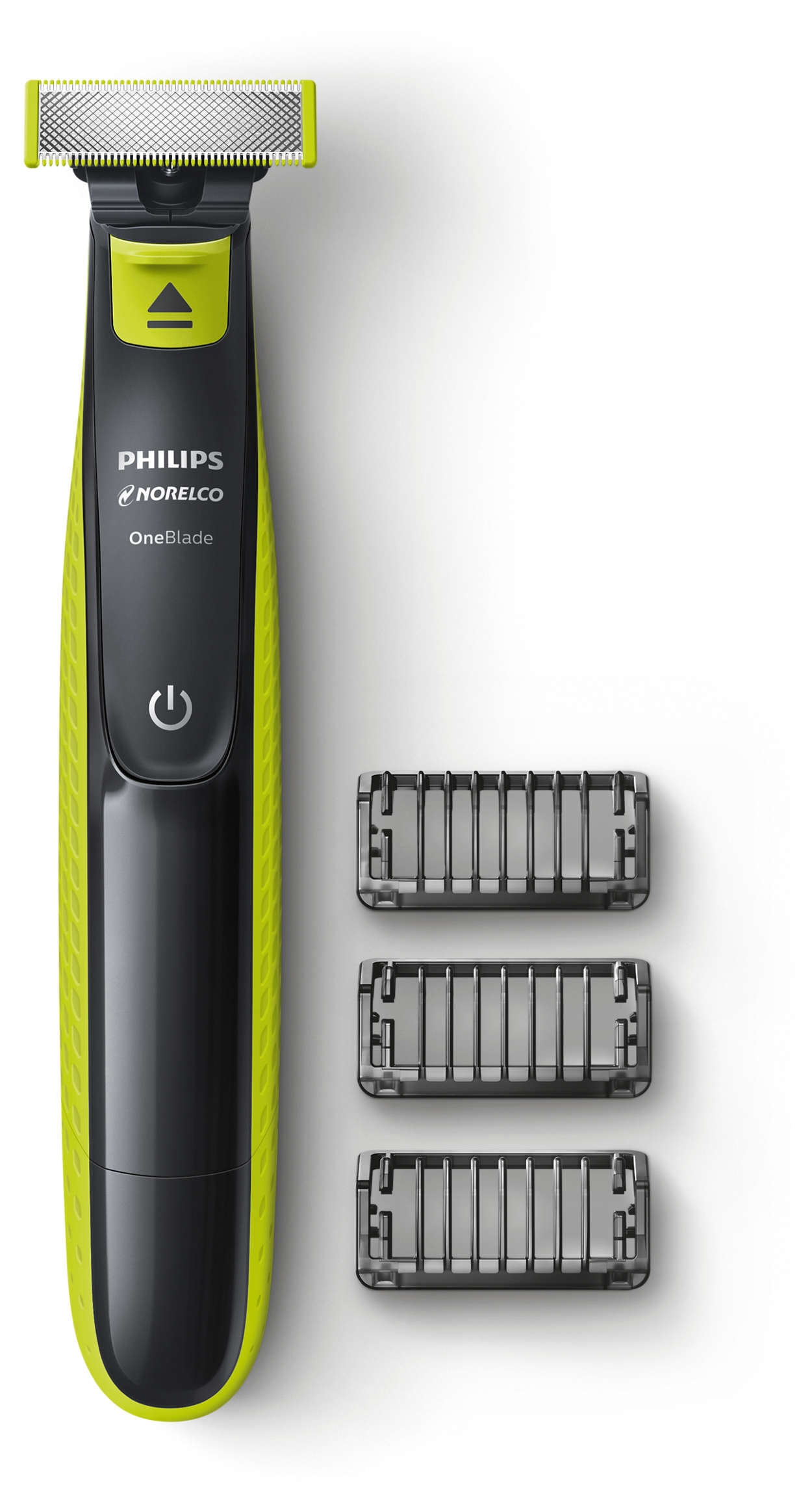 Philips Norelco OneBlade Hybrid Electric Trimmer and Shaver, QP2520 ...