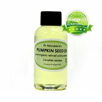 Dr. Adorable - 100% Pure Pumpkin Seed Oil Organic Cold Pressed Refined Natural Hair Skin Anti Aging - 2 oz