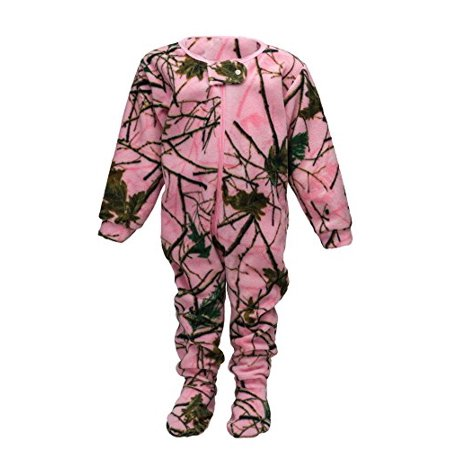 6c35220bc TrailCrest - Infant Camo One Piece Footed Fleece Crawler W  Magnet ...
